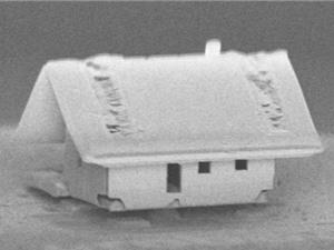 Robot xây dựng được ngôi nhà nhỏ nhất trên thế giới