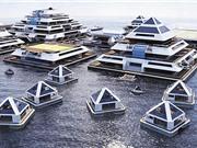 Dự án xây dựng thành phố kim tự tháp nổi