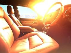 Thời gian để ôtô biến thành lò nướng khi đậu xe ngoài nắng