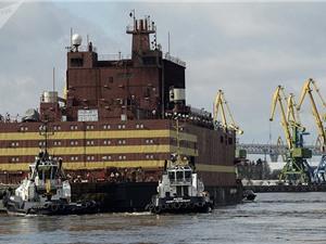 Nhà máy điện hạt nhân nổi đã tới Cực Bắc