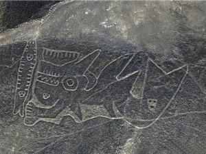 Phát hiện những hình vẽ khổng lồ bí ẩn trên sa mạc ở Peru