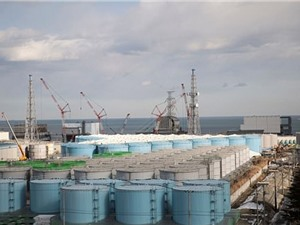 Khả năng lưu trữ nước phóng xạ tại nhà máy điện Fukushima gần đạt giới hạn