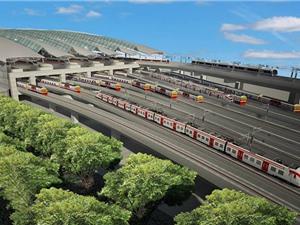 Thái Lan xây dựng nhà ga tàu hỏa lớn nhất Đông Nam Á