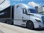 Xe tải - điện  hoạt động không gây ồn