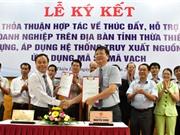 Thừa Thiên-Huế thí điểm truy xuất nguồn gốc sản phẩm bằng mã vạch