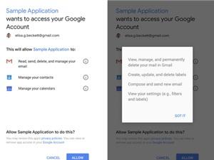 Google lên tiếng vụ bên thứ ba đọc email người dùng Gmail