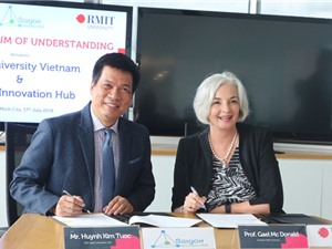 SIHUB hợp tác với đại học RMIT phát triển hệ sinh thái khởi nghiệp