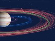 Phát hiện 12 mặt trăng mới của sao Mộc