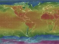 Sốc với bản đồ sóng nhiệt toàn cầu