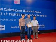 Giảng viên Đại học Sư phạm Huế nhận giải thường niên của Hội Vật lý lý thuyết Việt Nam