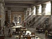 Thư viện La Mã cổ đại dưới lòng thành phố nước Đức