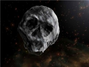 Tiểu hành tinh hình hộp sọ sắp bay ngang qua Trái đất