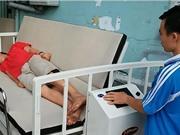 Giảm đau cho bệnh nhân bằng giường chống loét