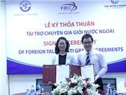 Dự án FIRST: Thúc đẩy sự hợp tác giữa chuyên gia giỏi nước ngoài với các tổ chức KH&CN trong nước