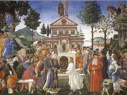 Chuyện chúa Jesus vượt qua cám dỗ của ác quỷ qua tranh Phục Hưng