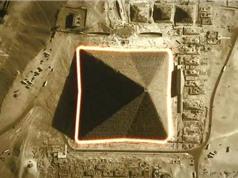 Giza: Kim tự tháp duy nhất có 8 mặt