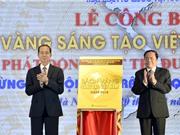 Công bố Sách vàng Sáng tạo Việt Nam năm 2018