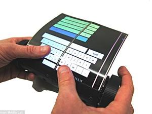 Máy tính bảng màn hình cuộn đầu tiên trên thế giới