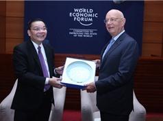Bộ trưởng Bộ KH&CN tiếp kiến Chủ tịch điều  hành Diễn đàn Kinh tế Thế giới