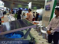 Trình diễn thiết bị, công nghệ ngành điện và năng lượng tái tạo