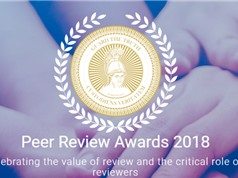 """Người Việt góp sức """"gác cửa"""" các ấn phẩm khoa học quốc tế: Góc nhìn từ Publons Peer Review Awards 2018"""