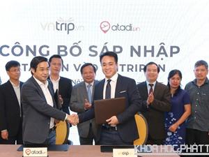 Vntrip công bố sáp nhập với Atadi, tham vọng trở thành công ty du lịch trực tuyến số 1 ở Việt Nam