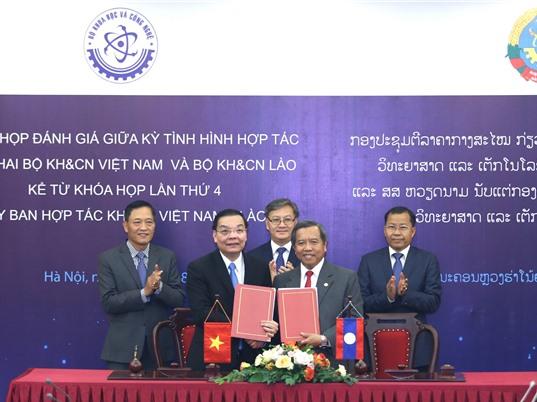 Hợp tác KH&CN Việt - Lào ngày càng hiệu quả, đa dạng