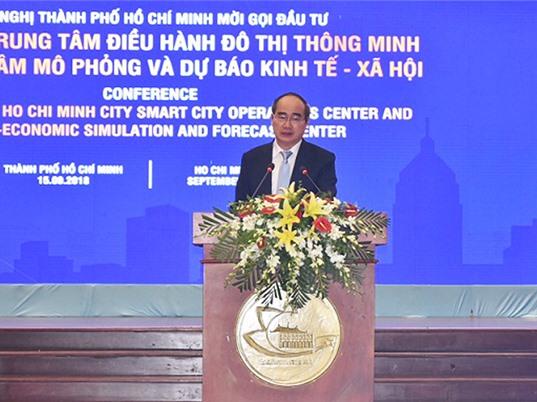 TPHCM kêu gọi đầu tư hai trung tâm điều hành và mô phỏng đô thị thông minh
