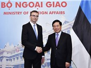 Estonia ủng hộ Việt Nam tăng cường hợp tác toàn diện với EU