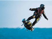 Phản lực bay gắn chân: 'Lượn như chim' ở tốc độ 167 km/h