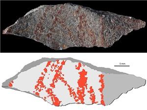 Bản vẽ lâu đời nhất thế giới trong hang động châu Phi