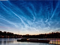 Những đám mây màu xanh lam hiếm gặp tại vùng cực