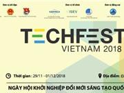 TECHFEST VIỆT NAM 2018: Ngày hội khởi nghiệp đổi mới sáng tạo Quốc gia