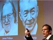 Tiếp cận đột phá về miễn dịch ung thư giành Nobel Y sinh 2018