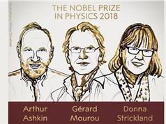 Sau 55 năm, lần đầu tiên lại có một nhà vật lý nữ đạt giải Nobel