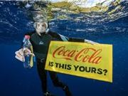 Phần lớn rác thải nhựa trên biển hiện nay thuộc về Coca-Cola, PepsiCo và Nestle