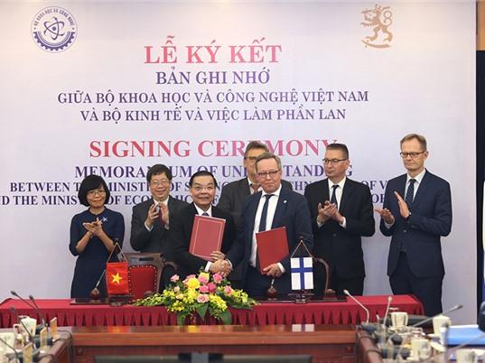 Việt Nam - Phần Lan: Thêm cơ hội chuyển giao công nghệ và thương mại hóa kết quả nghiên cứu cho cả hai bên