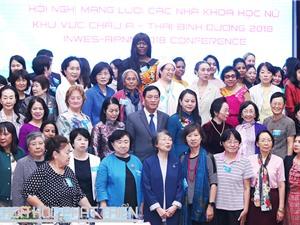 Nhà khoa học nữ châu Á - Thái Bình Dương thảo luận về phát triển bền vững trong bối cảnh CMCN 4.0