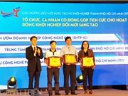 Lần đầu trao giải ĐMST và khởi nghiệp TPHCM