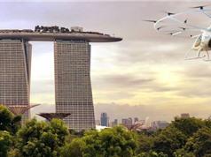"""Singapore sắp thử nghiệm """"taxi bay"""" năm 2019"""