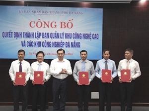Thủ tướng quyết định thành lập BQL khu công nghệ cao và các khu công nghiệp Đà Nẵng