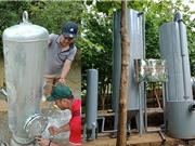 Thiết bị xử lý nước sạch đưa nước sạch đến học sinh vùng cao