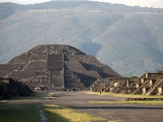 Phát hiện đường hầm bí mật bên dưới kim tự tháp Mexico