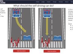 Xe tự lái nên được lập trình như thế nào về mặt đạo đức?