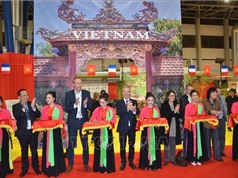 Việt Nam gây ấn tượng Hội chợ Văn hóa - Du lịch Grenoble (Pháp)