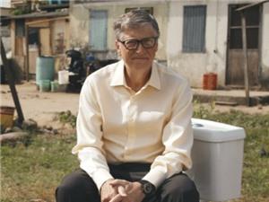 Bill Gates và dự án toilet công nghệ cao