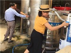 Việt-Úc hợp tác nghiên cứu thành công hệ thống lọc asen trong nước ngầm