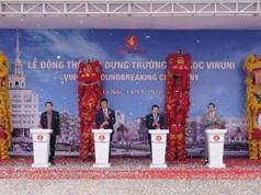 Vingroup khởi công Đại học VinUni