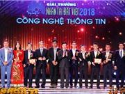 Nhân tài đất Việt 2018: Khuyết giải Nhất về Công nghệ thông tin