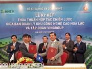 Vingroup triển khai dự án nghìn tỷ tại Khu CNC Hòa Lạc